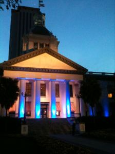 Florida's Historic Old Capitol Building in 2012.